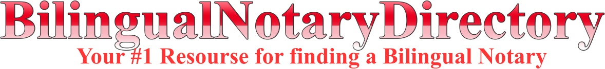 Bilingual Notary Directoy